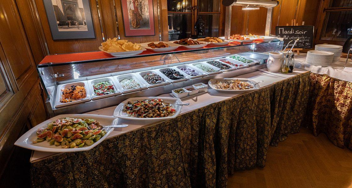 Paprika –Restaurant indien à Neuchâtel –Buffet végétarien